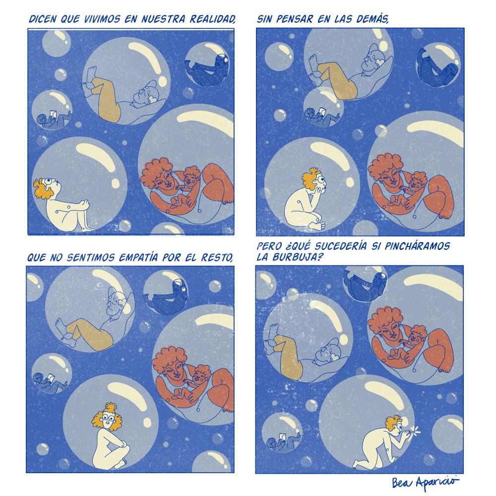 bea aparicio – burbuja